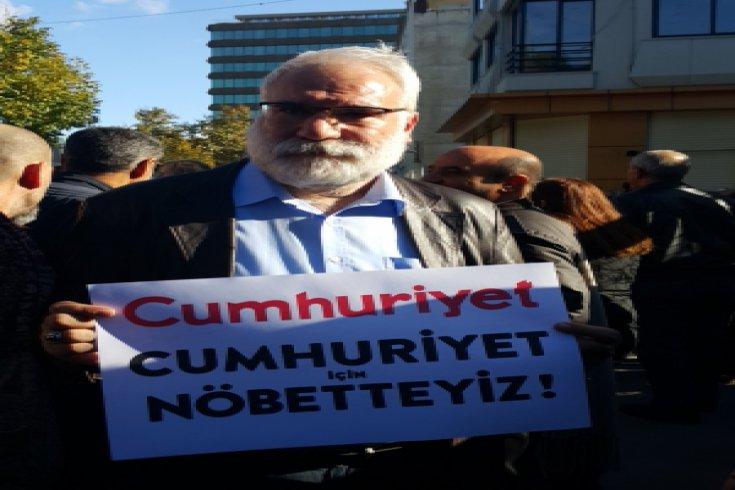 İmambakır Üküş'ten Cumhuriyet Gazetesi'ne dayanışma ziyareti