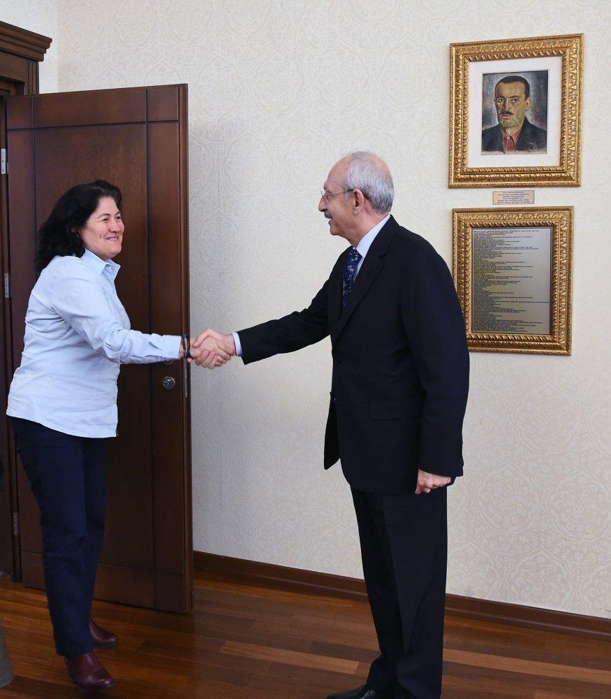 Kılıçdaroğlu, Kadın Adayları Destekleme Derneği'ni kabul etti