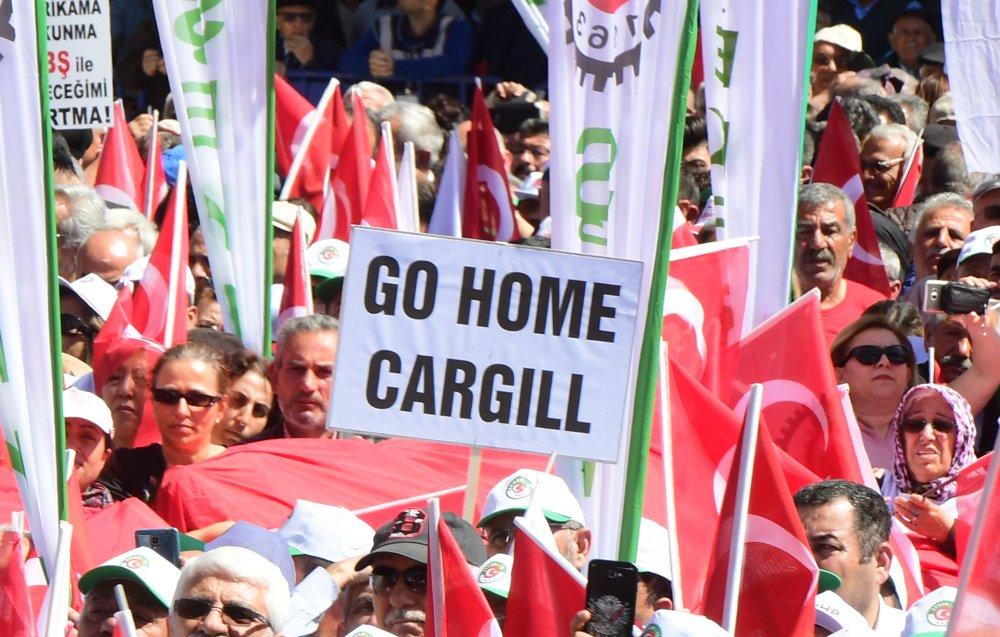 """Kılıçdaroğlu, Çorum'da """" Şeker Vatandır Vatan Satılmaz"""" mitingine katıldı"""
