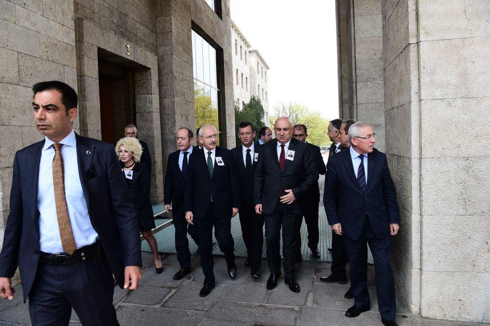 CHP Isparta Eski Milletvekili Ali Haydar Öner için TBMM'de cenaze töreni düzenlendi
