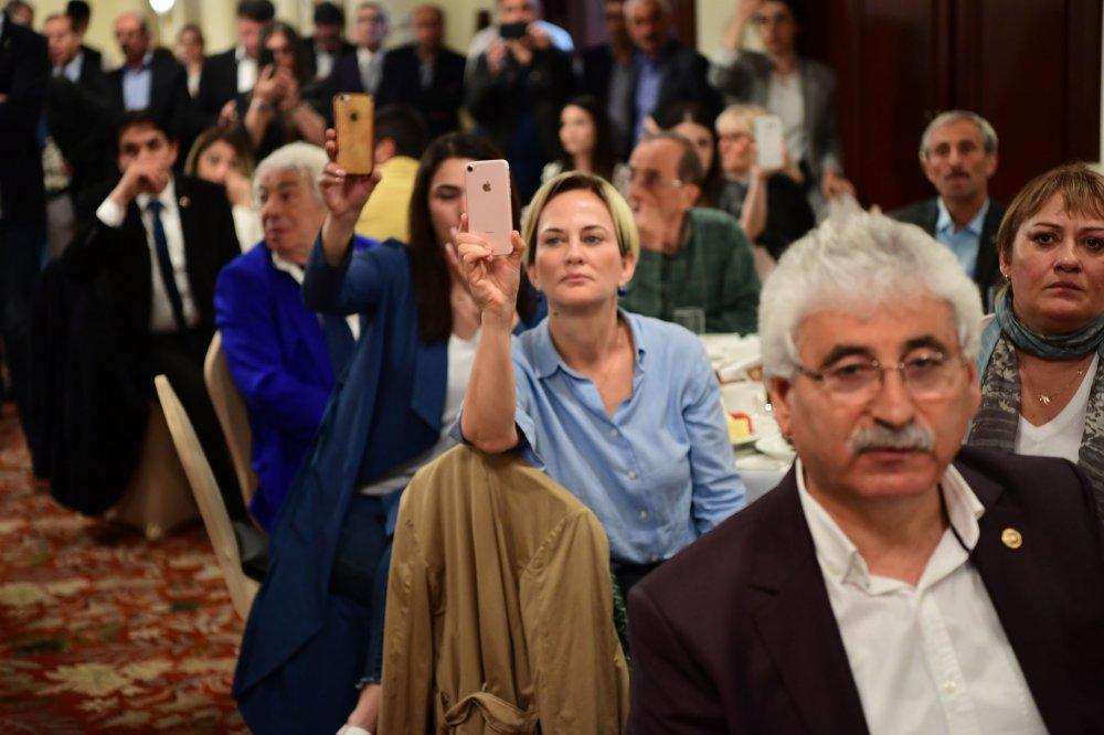 Muharrem İnce, Trabzon'da Sivil Toplum Kuruluşları temsilcileri ile buluştu