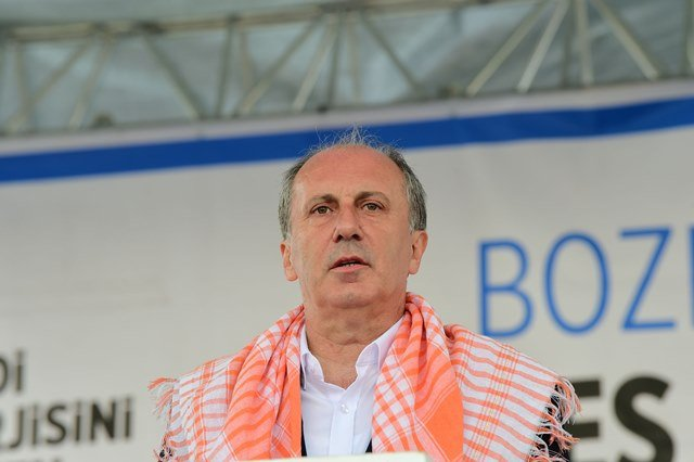 Muharrem İnce, Denizli'nin Bozkurt ilçesinde vatandaşlara hitaben konuştu