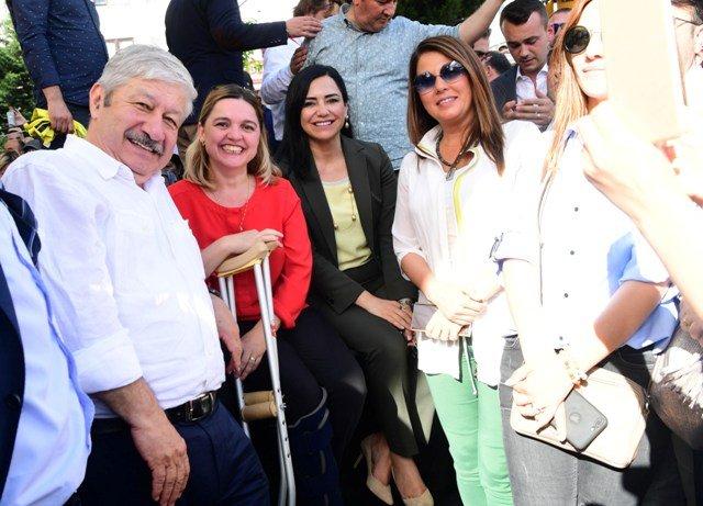 CHP Cumhurbaşkanı adayı Muharrem İnce Tekirdağ'da halka hitap etti