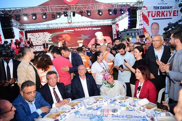 Muharrem İnce, Avcılar Belediyesinin toplu iftar yemeğine katıldı