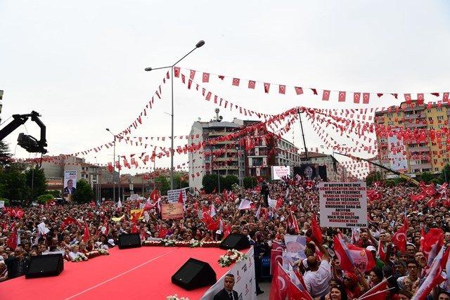 Muharrem İnce, Eskişehir mitinginde halka seslendi