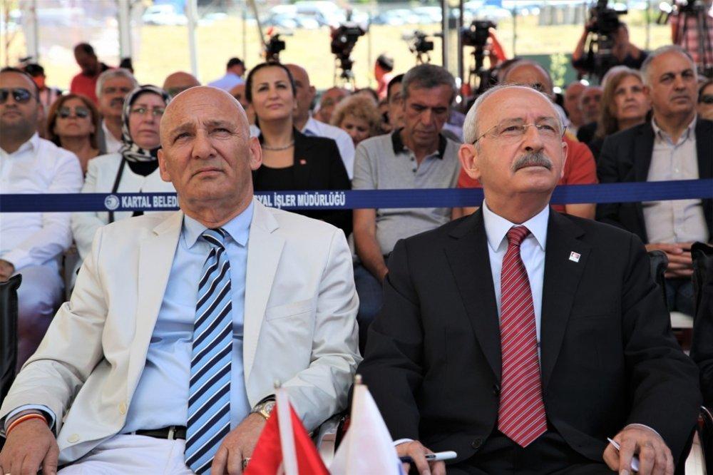 Kılıçdaroğlu, Kartal'da 'Yaşlı Bakım ve Huzurevi Binası'nın açılışına katıldı