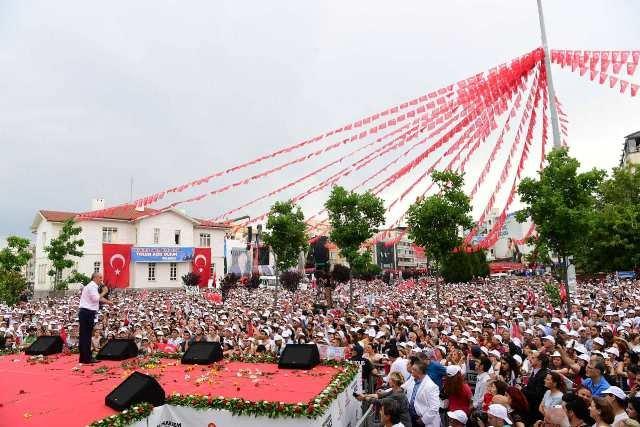 Muharrem İnce, memleketi Yalova'da halka seslendi