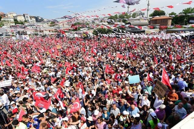 Muharrem İnce, Üsküdar'da halka seslendi