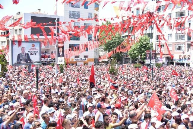 Muharrem İnce, Çorlu'da halka seslendi