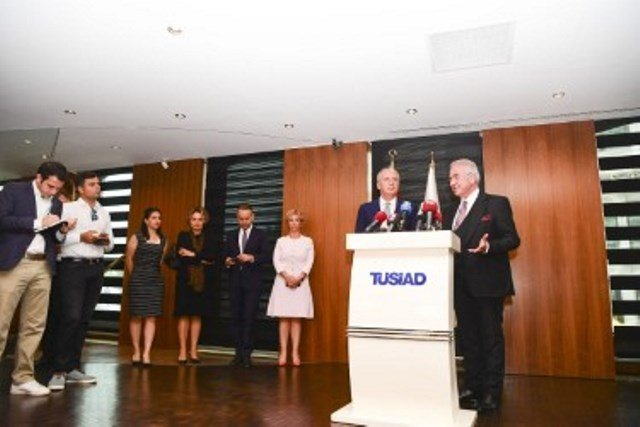 Muharrem İnce'den TÜSİAD'a ziyaret
