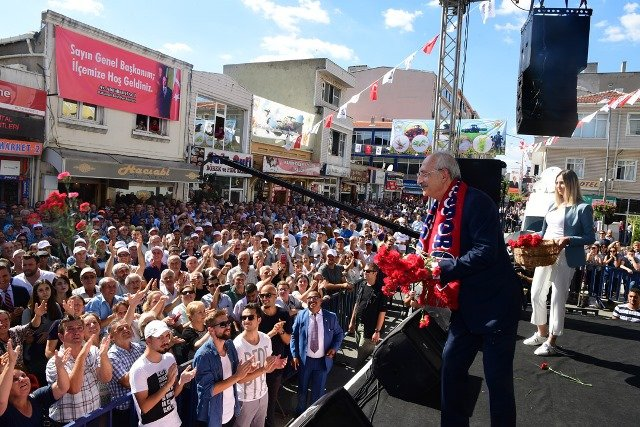 1. Kılıçdaroğlu, Kırklareli'de halka seslendi
