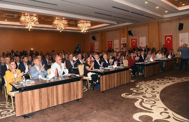 Kılıçdaroğlu, 'CHP TBMM Grubu 27. Dönem 1. Çalışma-Değerlendirme' toplantısında konuştu