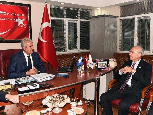 Kılıçdaroğlu, Çanakkale Karabiga'da yurttaşlarla bir araya geldi