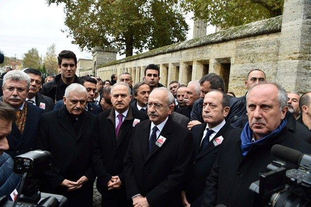 Kılıçdaroğlu, CHP Edirne Milletvekili Erdin Bircan'ın cenaze törenine katıldı