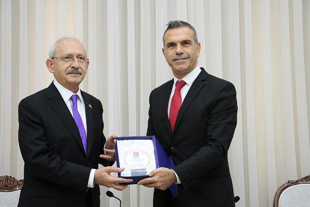 KKTC Meclis Başkanı Uluçay, Kılçdaroğlu'nu kabul etti