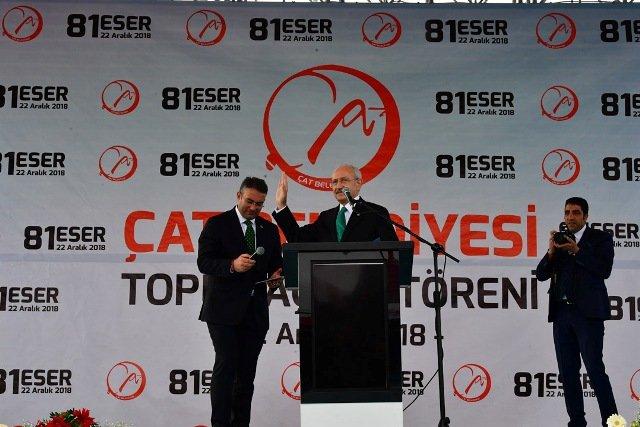 Kılıçdaroğlu, Erzurum'da 'İslam Eserleri Müzesi'nin açılışına katıldı