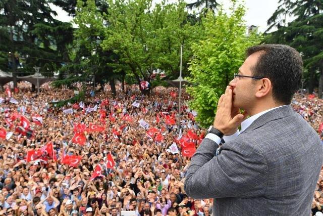 Trabzon'da Ekrem İmamoğlu fırtınası