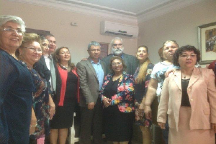 Adana CHP'de Coşkulu Bayramlaşma