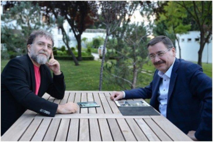 Ahmet Hakan ve İ. Melih Gökçek