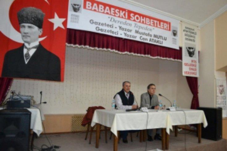 Babaeski'de Can Ataklı ve Mustafa Mutlu Rüzgarı