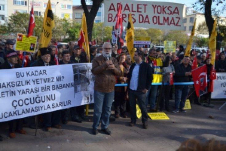 Beşiktaş Sessiz Çığlık Basın Açıklaması İmambakır Üküş Konuşması