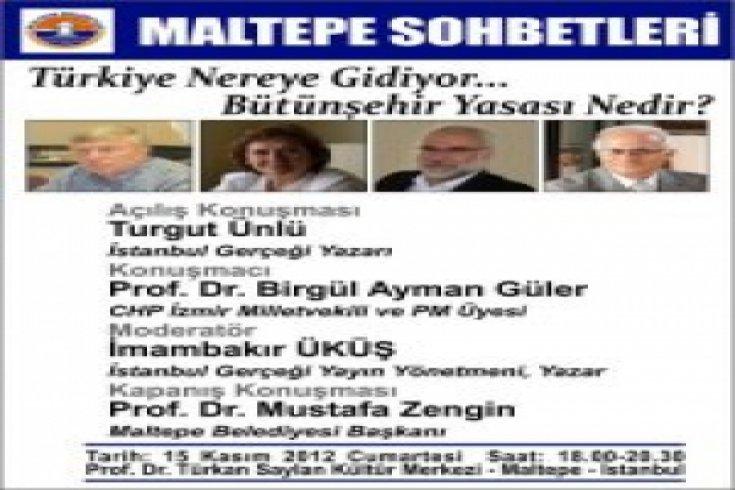 Birgül Ayman Güler Maltepe'de