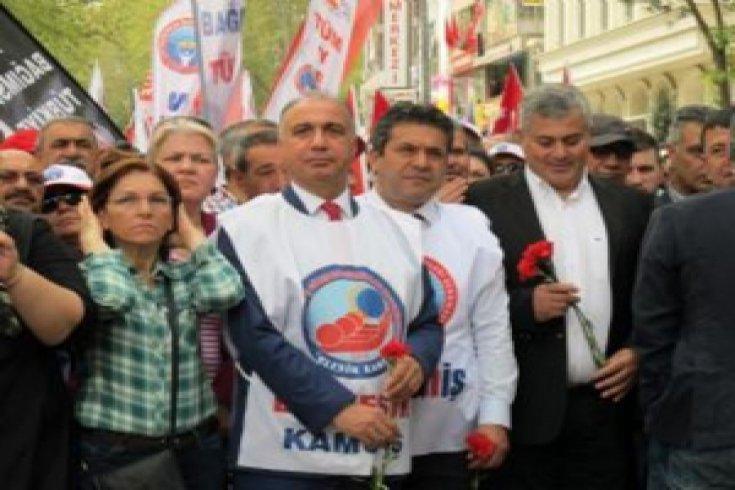 Birleşik Kamu-İş 1 Mayıs'ı yurdun dört bir yanında kutladı