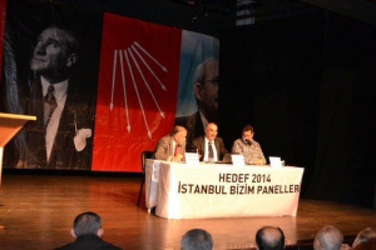 CHP Beşiktaş'ta İstanbul Bizim Panelleri Başladı