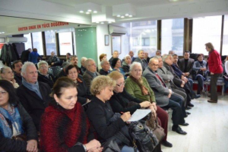CHP İzmir Konak'ta eğitim çalışması