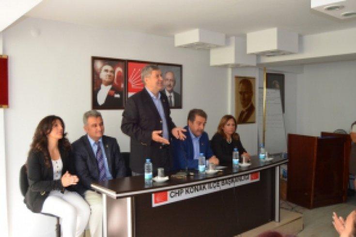 CHP İzmir'de Bayramlaştı