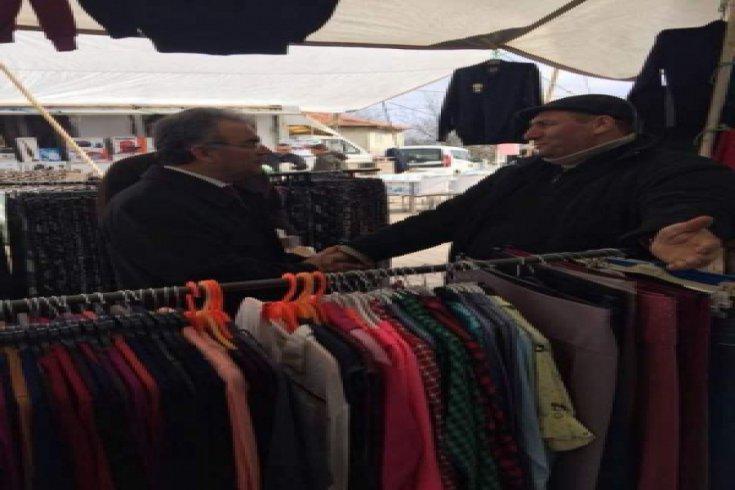 CHP Kırklareli Milletvekili Turabi Kayan cuma ve cumartesi Demirköy ve köylerindeydi