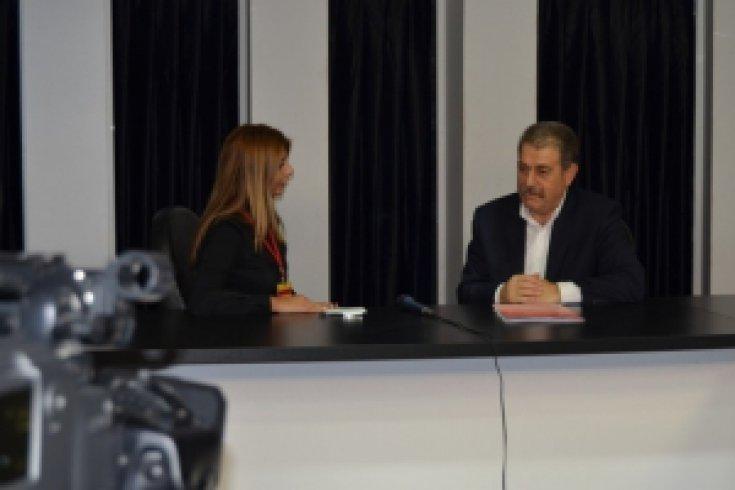 CHP Konak-Cem TV ziyareti