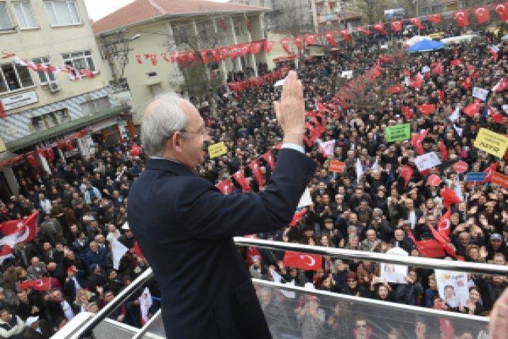 CHP lideri, Bursa'da halkla bir araya geldi