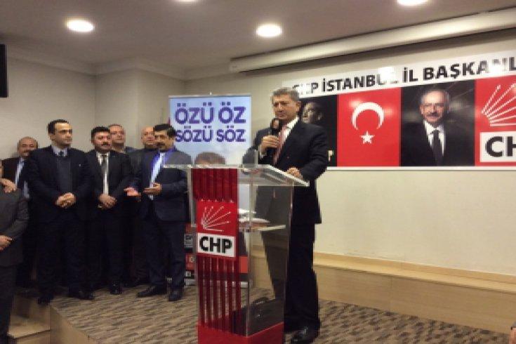 CHP PM Üyesi Ali Özcan İstanbul 1. Bölge'den ön seçim ile milletvekili aday adaylığını açıkladı…