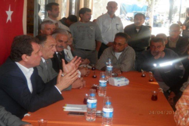 CHP'li Şener AKP'nin tarım politikalarını eleştirdi