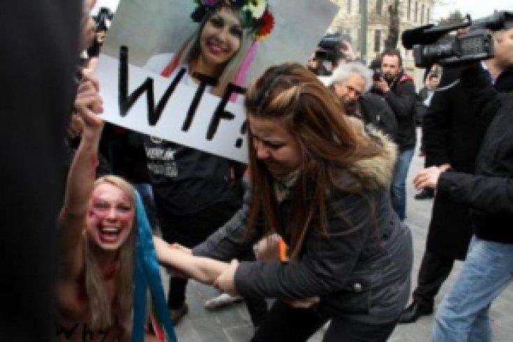 FEMEN İstanbul'da