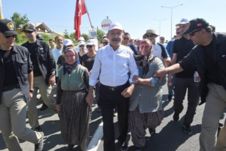 Fotoğraflarla Adalet Yürüyüşü'nün 12. günü