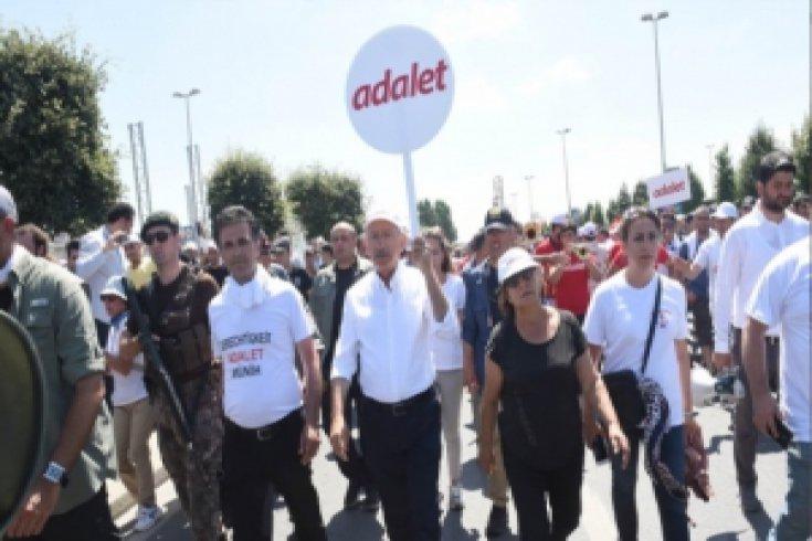 Fotoğraflarla Adalet Yürüyüşü'nün 24. günü
