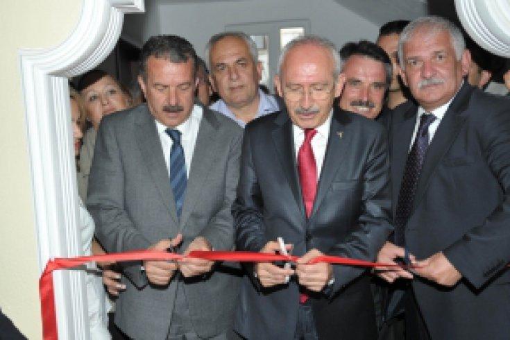 Giresun'un Espiye İlçesi CHP Örgütünün yeni binasını hizmete açtı