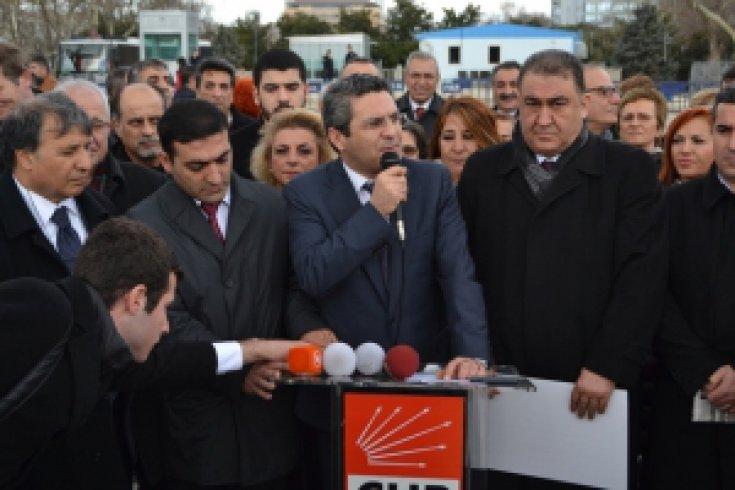 İatanbul İl Başkanlığı Taksim Topçu Kışlası Basın Açıklaması