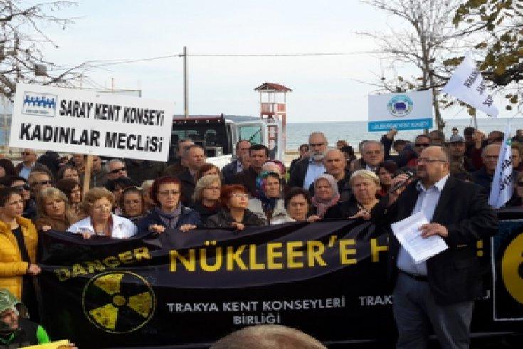 İğneada'da Nükleer Santral değil temiz enerji istiyoruz!