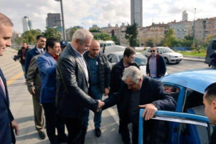 Jose Mujica Şişli'de