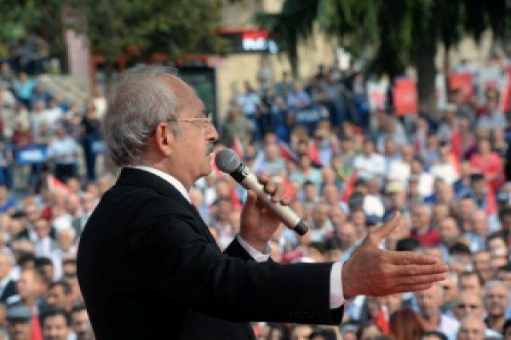 Kılıçdaroğlu, Amasya Mitinginde konuştu