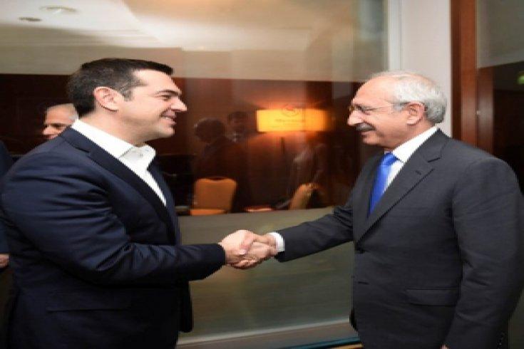 Kılıçdaroğlu, Çipras ile görüştü