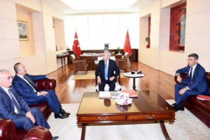 Kılıçdaroğlu, Dışişleri Bakanını kabul etti