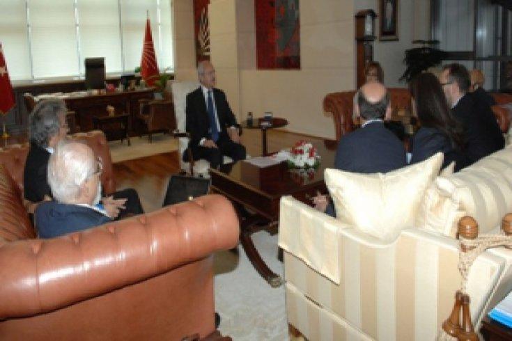 Kılıçdaroğlu'na  Cumhuriyet Gazetesi'nden ziyaret