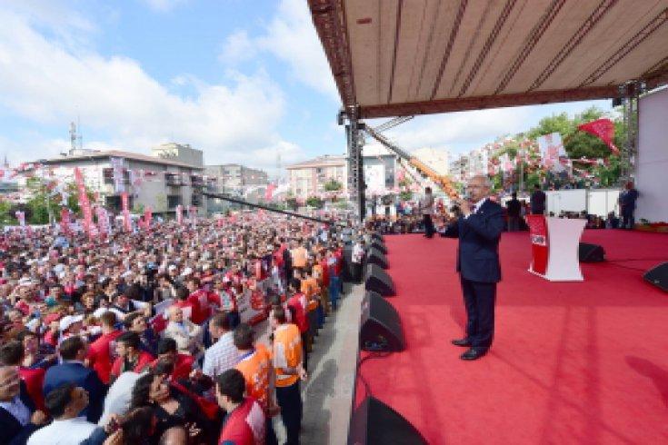 Kılıçdaroğlu,Sultangazi'de