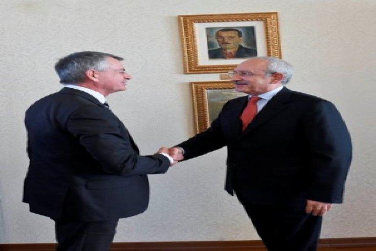 Kanada Büyükelçisi'nden CHP'ye ziyaret