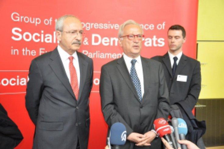 Kemal Kılıçdaroğlu Brüksel'de