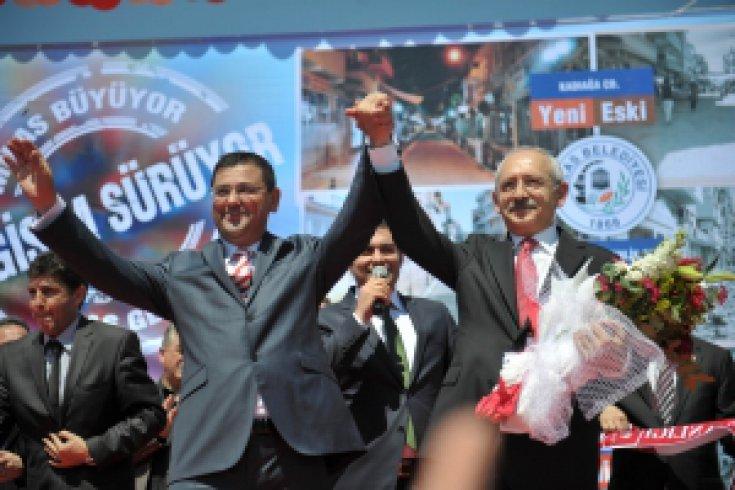 Kemal Kılıçdaroğlu Milas'ta